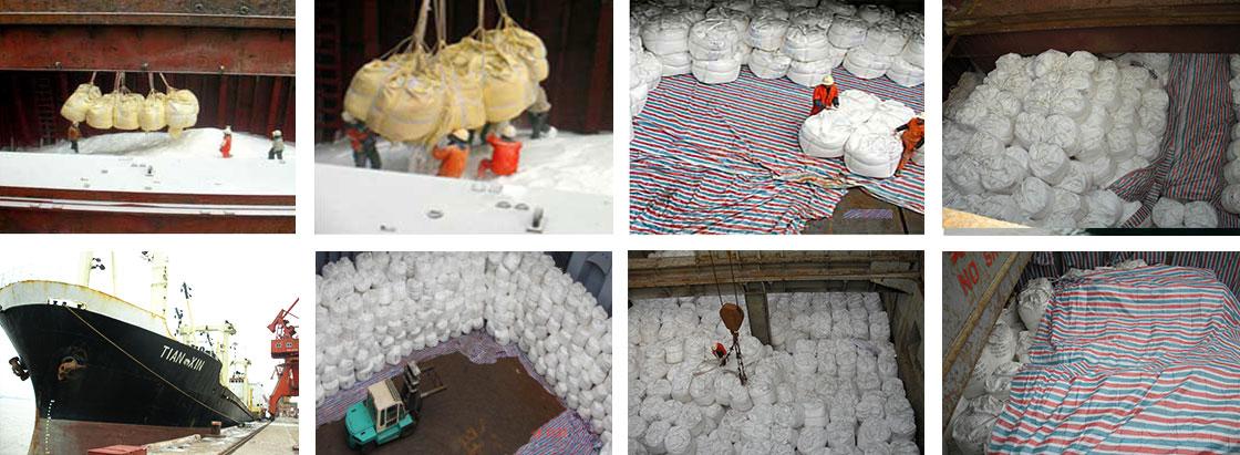 Sodium Sulphate Anhydrous -breakbulk shipment
