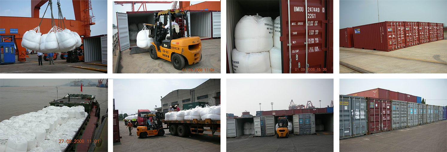 Sodium Sulphate Anhydrous Container Shipment
