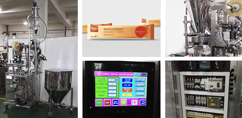Double Fillers Vertical Packaging Machine
