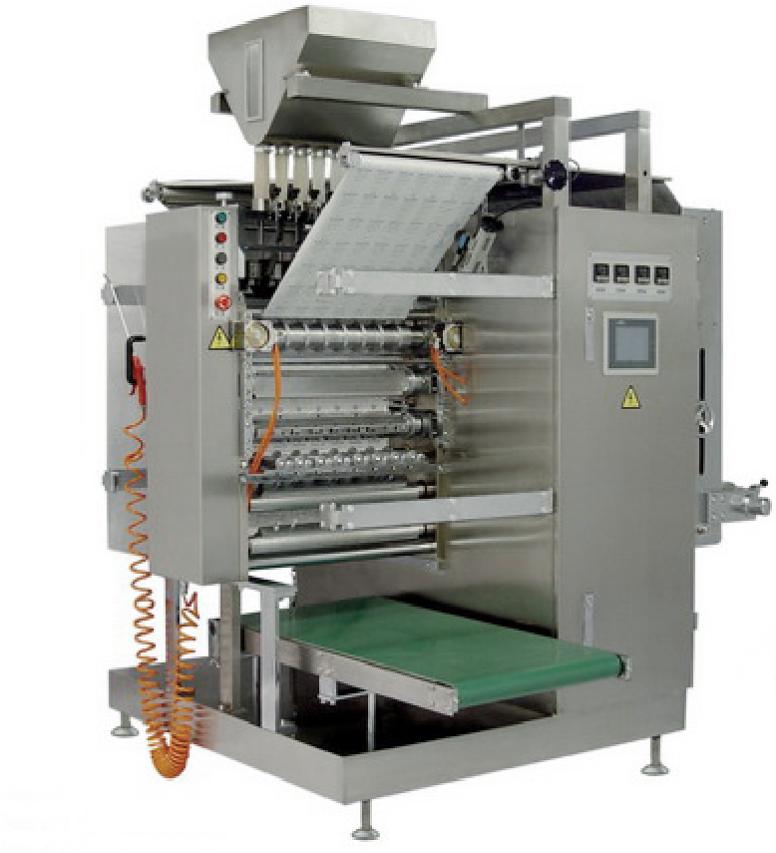 Высокоскоростный Многоручьевый Вертикальный Фасовочный Упаковочный Автомат упаковки гранулированных продуктов В Саше