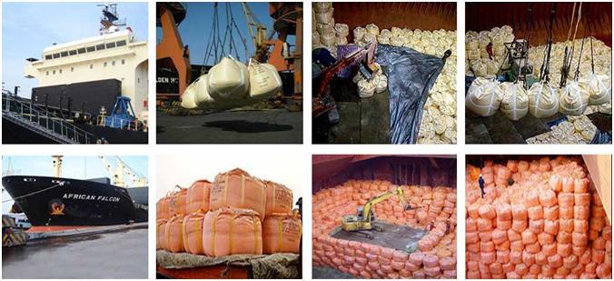 Soda Ash Breakbulk shipment